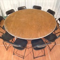"Table - Round - 72"" - Seats 10"